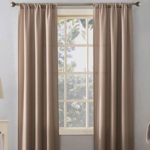 Mainstays Textured Solid Curtain Panels 34x84